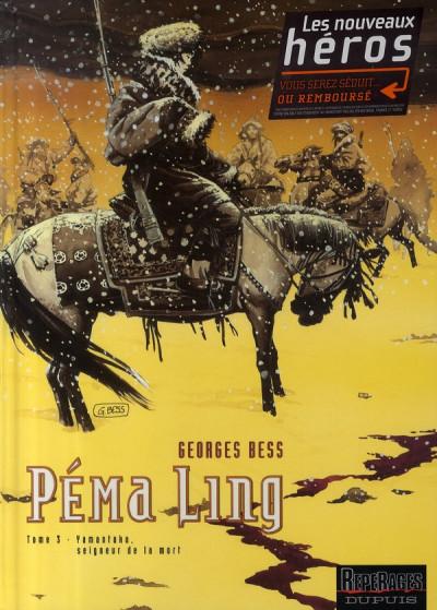 Couverture péma ling tome 3 - yamantaka, seigneur de la mort
