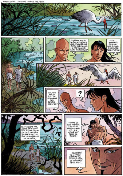 Page 1 la dernière reine tome 1 - le cobra du nil