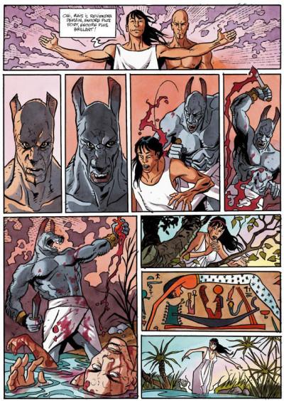 Page 2 la dernière reine tome 1 - le cobra du nil