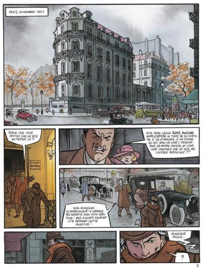Page 1 secrets, l'écorché tome 2
