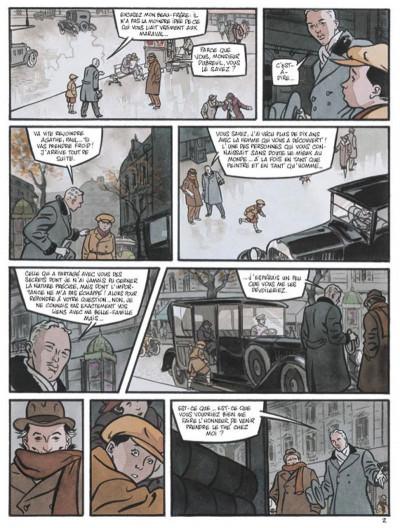 Page 2 secrets, l'écorché tome 2
