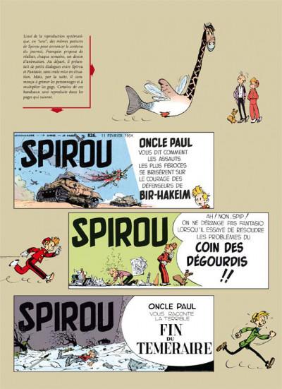 Page 2 spirou et fantasio - intégrale tome 3 - voyages autour du monde
