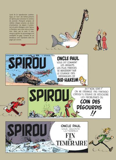 Page 5 spirou et fantasio - intégrale tome 3 - voyages autour du monde