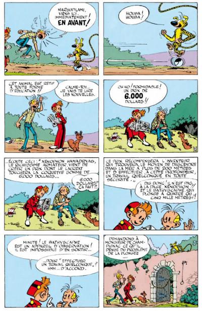 Page 2 spirou et fantasio - intégrale tome 4 - aventures modernes (1954-1956)