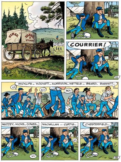 Page 1 les tuniques bleues tome 51 - stark sous toutes les coutures