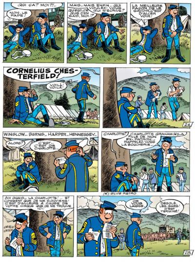 Page 2 les tuniques bleues tome 51 - stark sous toutes les coutures