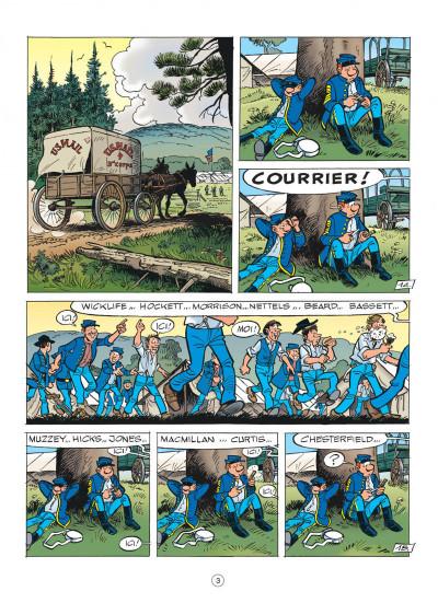 Page 3 les tuniques bleues tome 51 - stark sous toutes les coutures