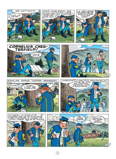 Page 4 les tuniques bleues tome 51 - stark sous toutes les coutures