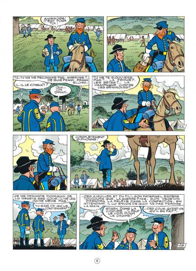 Page 6 les tuniques bleues tome 51 - stark sous toutes les coutures