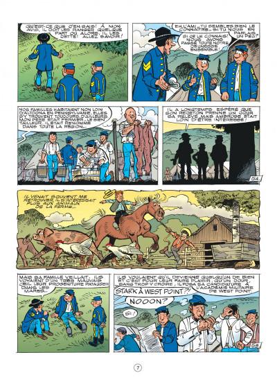 Page 7 les tuniques bleues tome 51 - stark sous toutes les coutures