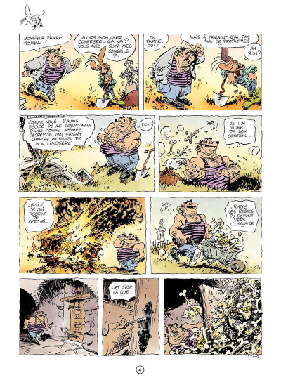 Page 3 pierre tombal tome 24 - on s'éclate mortels !