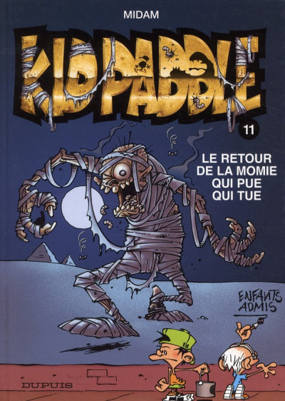 Couverture Kid Paddle tome 11