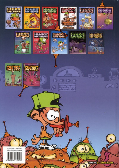 Dos Kid Paddle tome 11