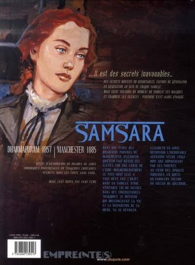 Dos secrets, samsara tome 1