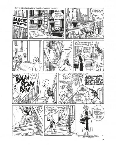 Page 7 jérôme k. jérôme bloche - intégrale  noir et blanc tome 3