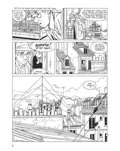 Page 8 jérôme k. jérôme bloche - intégrale  noir et blanc tome 3