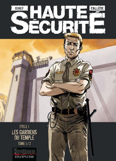 Couverture haute sécurité - cycle 1 - les gardiens du temple tome 1 (promo)