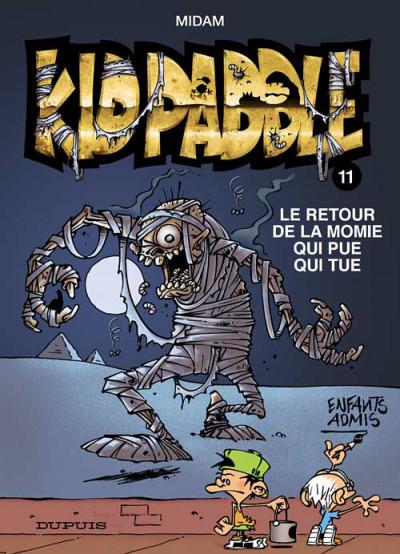 Couverture Kid Paddle tome 11 - édition spéciale