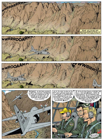 Page 1 buck danny tome 52 - porté disparu