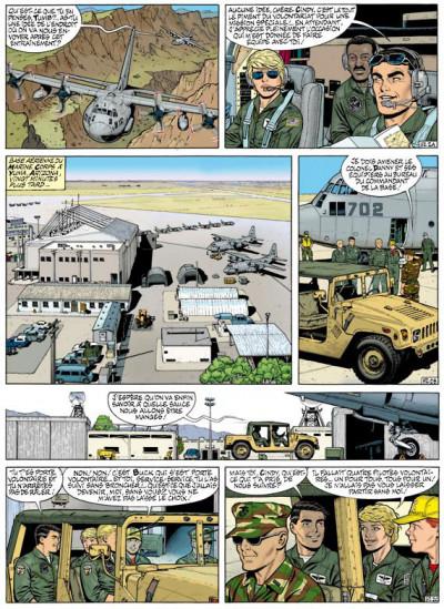 Page 2 buck danny tome 52 - porté disparu