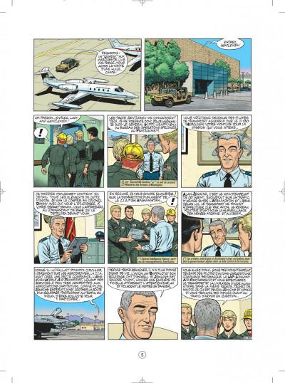 Page 5 buck danny tome 52 - porté disparu