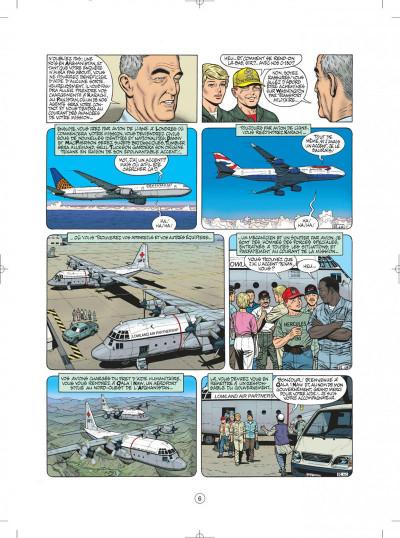 Page 6 buck danny tome 52 - porté disparu