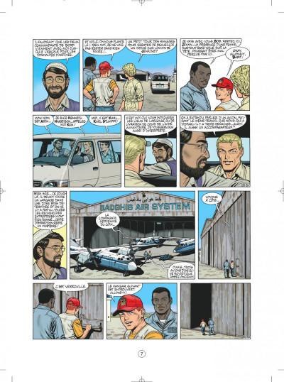 Page 7 buck danny tome 52 - porté disparu