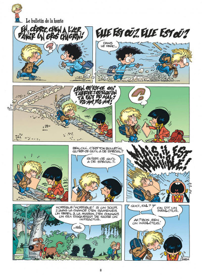 Page 8 cédric tome 22 - elle est moche !
