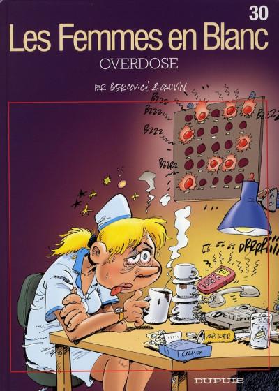 image de les femmes en blanc tome 30 - overdose