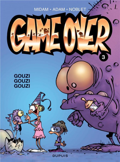 Couverture game over tome 3 - gouzi gouzi gouzi