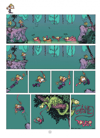 Page 5 game over tome 3 - gouzi gouzi gouzi