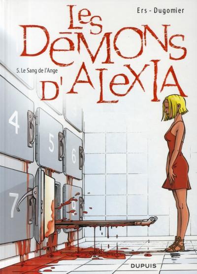 Couverture les démons d'alexia tome 5 - le sang de l'ange