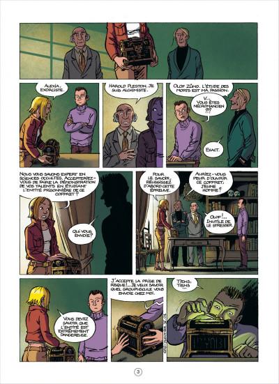 Page 3 les démons d'alexia tome 5 - le sang de l'ange