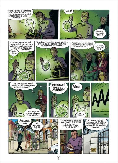 Page 4 les démons d'alexia tome 5 - le sang de l'ange