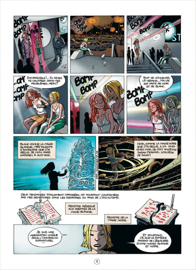 Page 8 les démons d'alexia tome 5 - le sang de l'ange