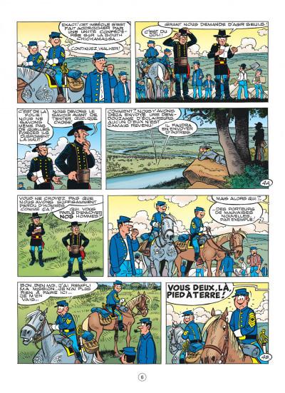 Page 6 les tuniques bleues tome 52 - des bleus dans le brouillard