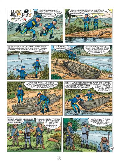 Page 8 les tuniques bleues tome 52 - des bleus dans le brouillard