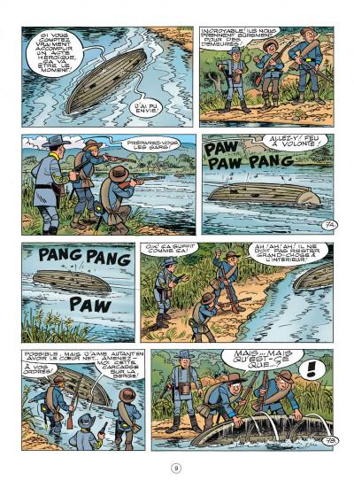 Page 9 les tuniques bleues tome 52 - des bleus dans le brouillard