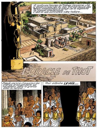 Page 1 papyrus tome 30 - l'oracle de thot