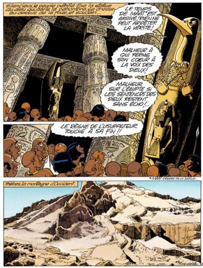 Page 2 papyrus tome 30 - l'oracle de thot