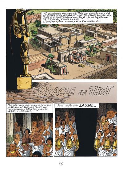 Page 3 papyrus tome 30 - l'oracle de thot