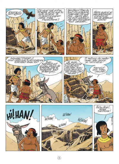 Page 5 papyrus tome 30 - l'oracle de thot
