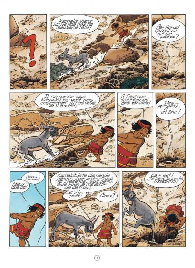 Page 7 papyrus tome 30 - l'oracle de thot