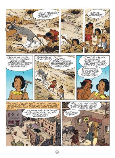 Page 8 papyrus tome 30 - l'oracle de thot