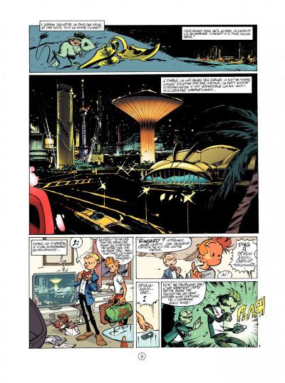 Page 1 spirou et fantasio tome 50 - aux sources du z