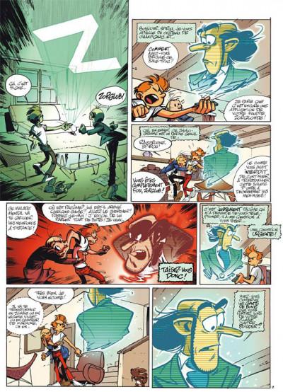 Page 2 spirou et fantasio tome 50 - aux sources du z