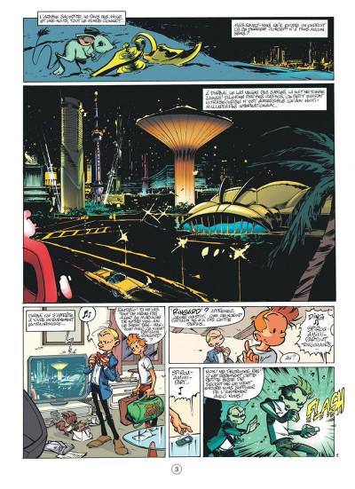 Page 3 spirou et fantasio tome 50 - aux sources du z