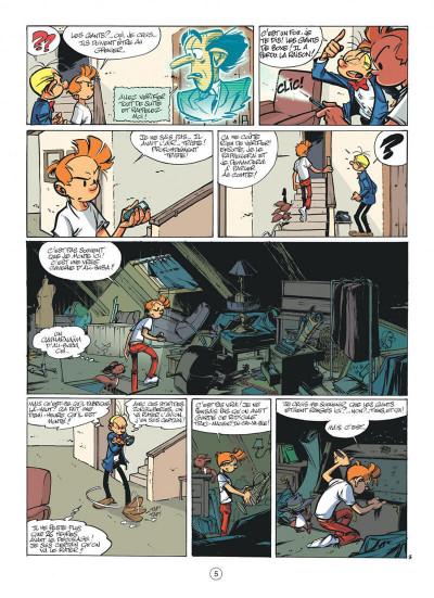 Page 5 spirou et fantasio tome 50 - aux sources du z
