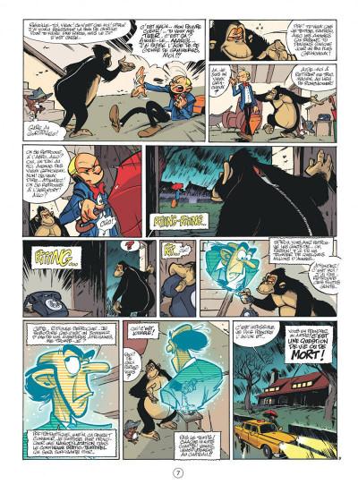 Page 7 spirou et fantasio tome 50 - aux sources du z