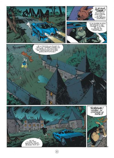 Page 8 spirou et fantasio tome 50 - aux sources du z